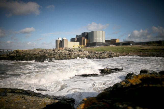 TREGELE, UNITED KINGDOM - OCTOBER 23: A general view of the Wylfa nuclear power station on October 23, 2013 in Tregele, Anglesey, United Kingdom. The government has announced that the first new nuclear power station will be built in Britain since 1995 will be at Hinkley Point near Bristol. The announcement will come as welcome news for Japanese company Hitachi who have proposed a new Wylfa reactor. (Photo by Christopher Furlong/Getty Images)