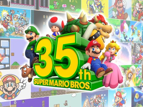 Super Mario Bros. gets battle royale game and Game & Watch for 35th anniversary