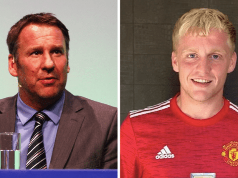 'It makes no sense!' – Paul Merson hits out at Manchester United over 'panic buy' Donny van de Beek