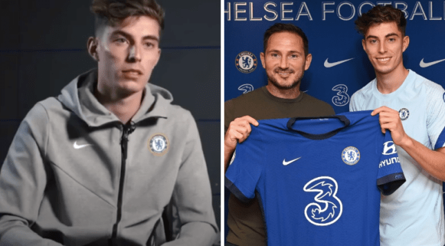 Kai Havertz speaks to Chelsea TV about the role Frank Lampard played in his transfer move from Bayer Leverkusen