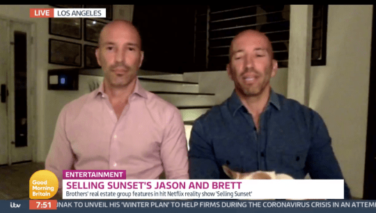 Jason and Brett Oppenheim on Good Morning Britain