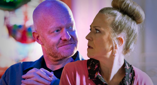 Linda and Max in EastEnders