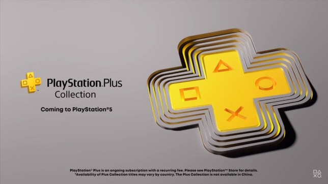 PlayStation Plus Collection graphic