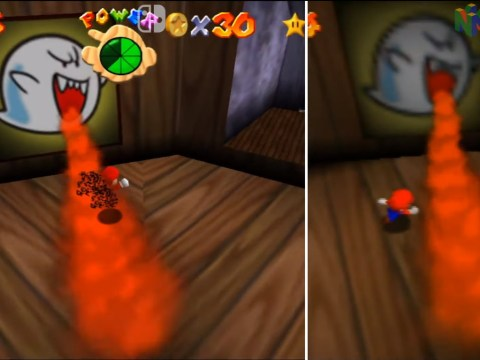 Super Mario 3D-All Stars does improve textures in Super Mario 64