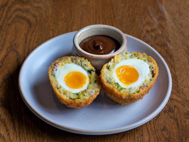 The vegan scotch egg