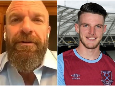WWE legend Triple H urges Declan Rice to reject Chelsea transfer