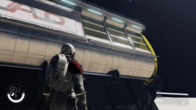 Starfield leaked screenshot