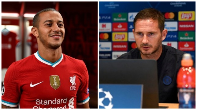 Chelsea manager Frank Lampard has hailed new Liverpool signing Thiago Alcantara
