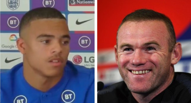 Mason Greenwood has responded to praise from Manchester United legend Wayne Rooney