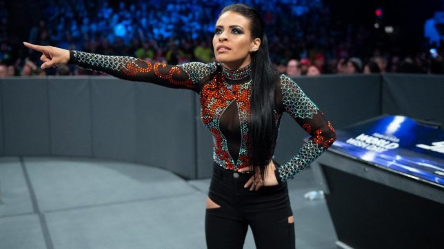 WWE superstar Zelina Vega