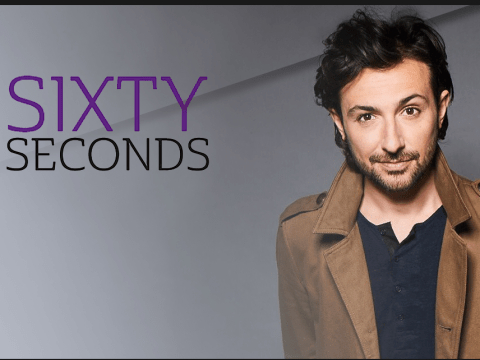 Sixty Seconds: Alex Zane on his love of film, dressing up as Mary Poppins and his wedding that never was