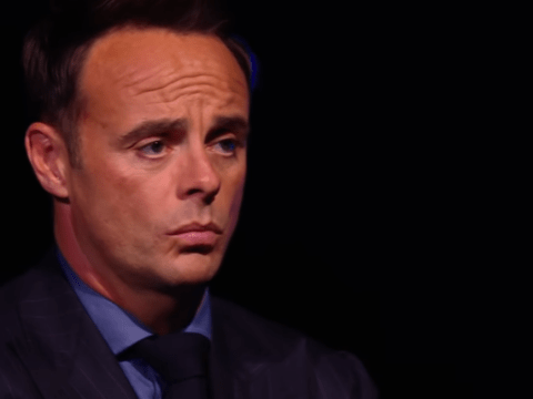 Dog lover Ant McPartlin close to tears watching emotional Britain's Got Talent performance