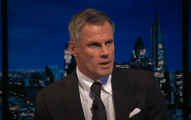 Jamie Carragher cannot see any team rivalling Liverpool and Man City for the title