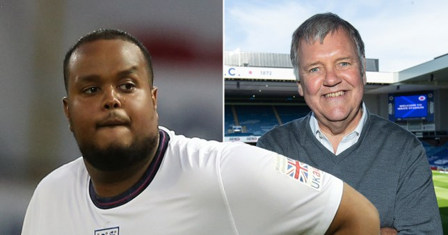 Soccer Aid rapper Chunkz devastated after 'grossly inappropriate' Clive Tyldesley fat shamed him
