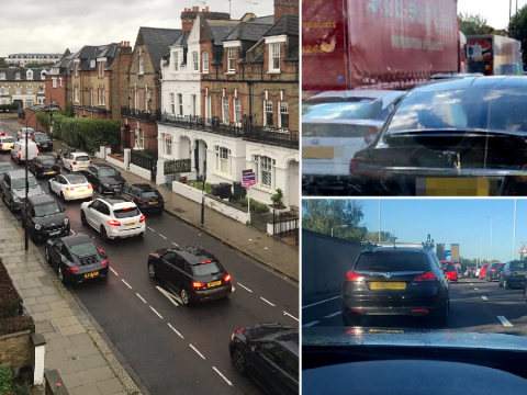 School run traffic returns as children lead way in getting UK 'back to normal'