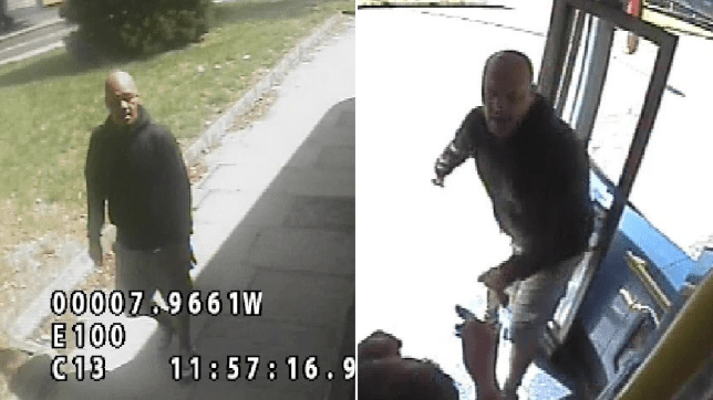 Police have released images of a man they wish to speak with after a bus driver was assaulted in south London.