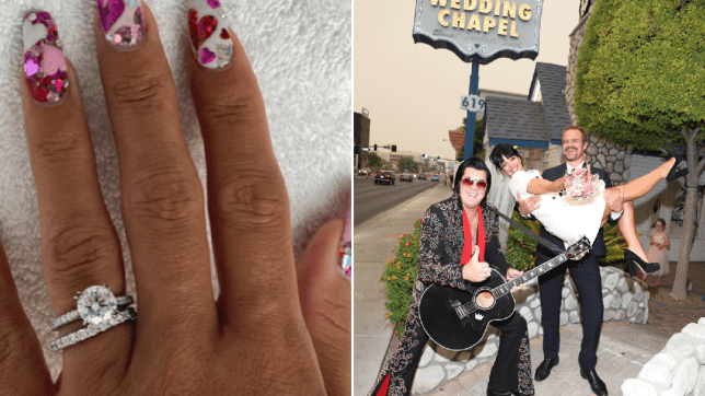 Lily Allen wedding ring as she marries David Harbour