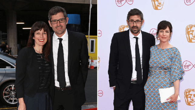 Louis Theroux and Nancy Strang