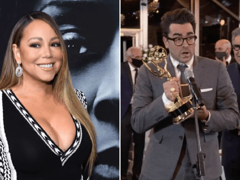 Mariah Carey celebrates Schitt's Creek's Emmy success with special shout-out to Dan Levy