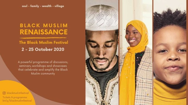 Speakers at Black Muslim festival