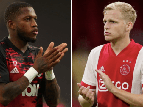 Fred plays down Manchester United exit rumours after Donny van de Beek's arrival