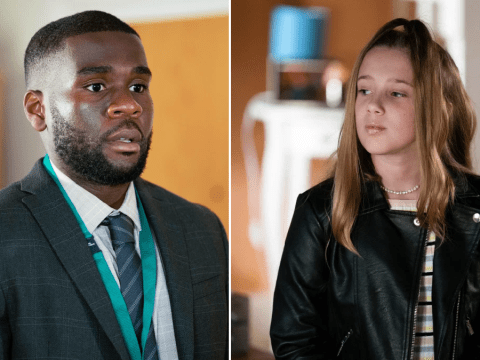 EastEnders spoilers: Trouble for Isaac Baptiste as young Amy Mitchell gets a crush on her tutor