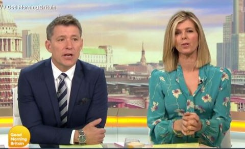 Kate Garraway mortified after nurses find contact lens lodged in her eye after six days: 'I feel a little bit embarrassed'