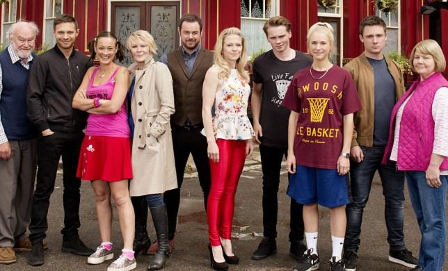 The Carters in EastEnders