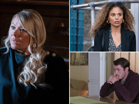EastEnders spoilers: 52 new images from soap's huge return reveal Sharon destroyed, Chantelle's escape plan and Ben's dilemma