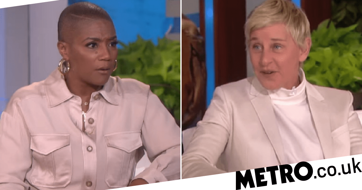 The Ellen Show: Guest Tiffany Haddish supports Ellen DeGeneres '110%' - Metro.co.uk