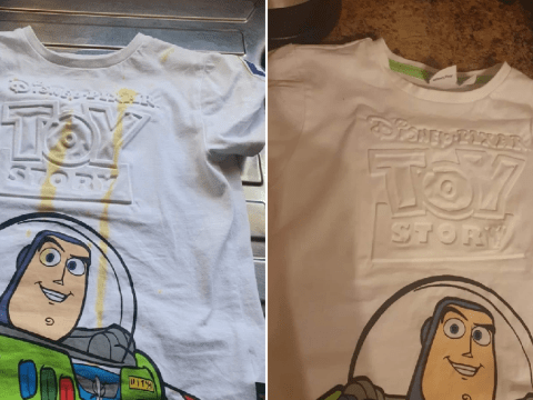 Mum shares easy (and free) hack for getting rid of stains on clothes