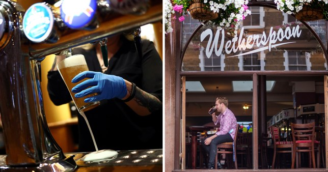 Stock images of Wetherspoon pubs