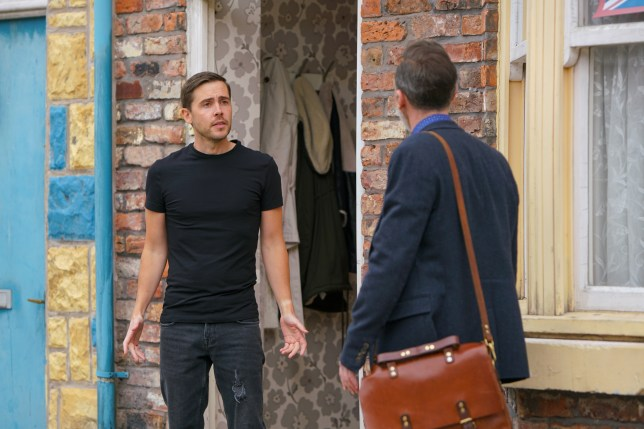 Todd and Billy coronation Street