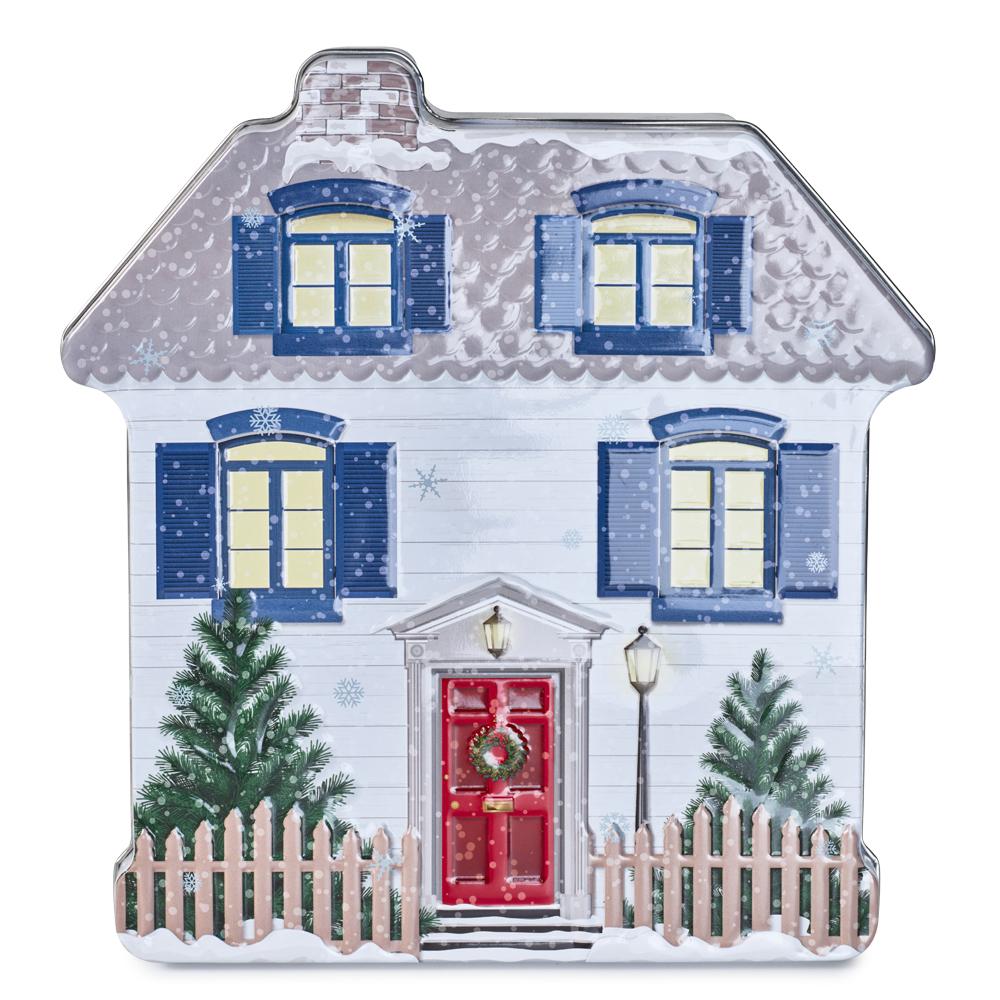 Embossed Christmas Tin