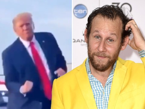 Australian singer Ben Lee brilliantly mocks Donald Trump's awkward dancing with hilarious mash up