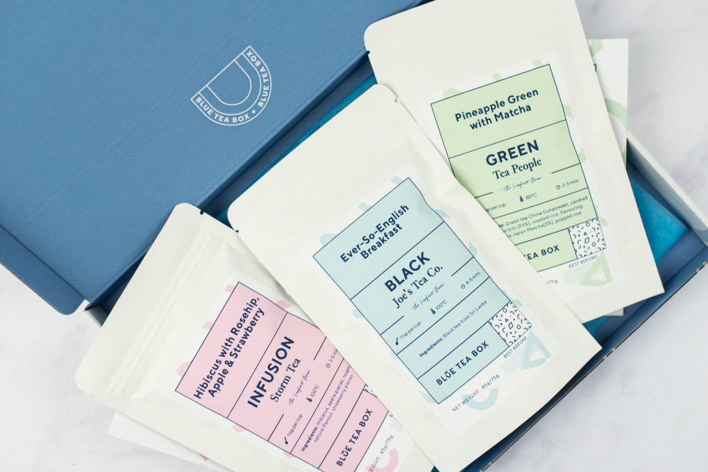 Blue Tea Box Subscription Set