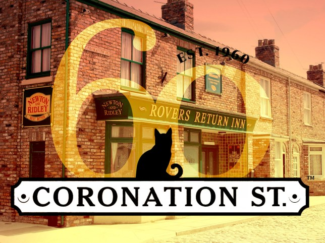 Coronation Street anniversary stunt