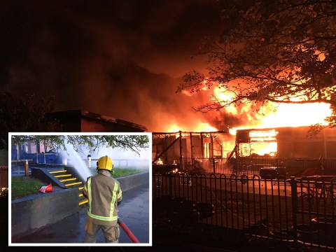 Fire rips through primary school four miles from similar blaze