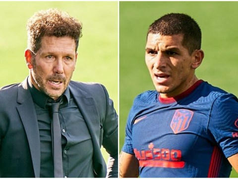 Diego Simeone hails Lucas Torreira after on-loan Arsenal midfielder impresses in Atletico Madrid debut