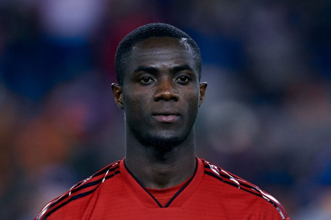 Bailly was forced off the pitch while on international duty for Ivory Coast