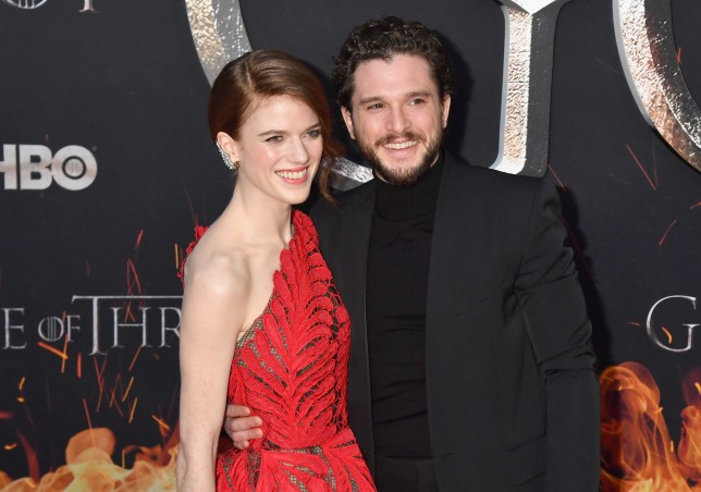 Game Of Thrones star Rose Leslie and Kit Harington