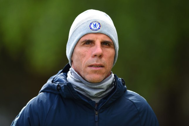 Gianfranco Zola was the assistant coach at Chelsea when they signed Kepa Arrizabalaga