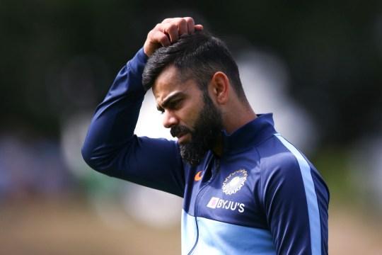 Virat Kohli will return home after the first Test against Australia