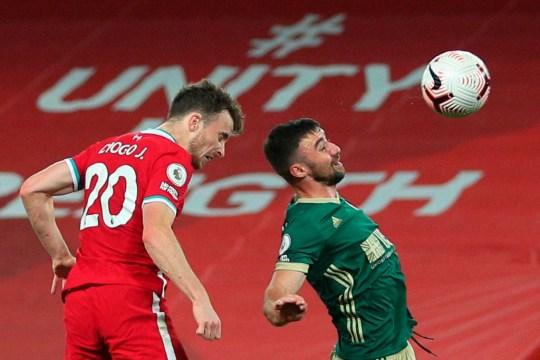 Diogo Jota a marqué le but gagnant de Liverpool lors de la victoire du week-end dernier contre Sheffield United