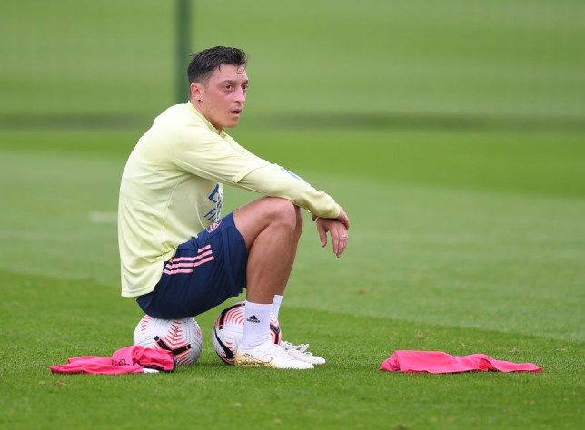 Ozil has not featured since March
