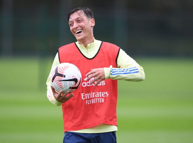 Mesut Ozil has been left out of Arsenal's Europa League squad