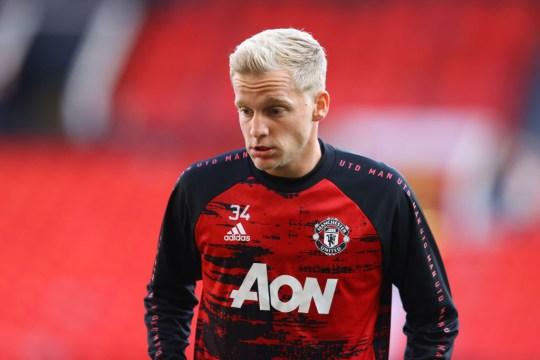 Donny van de Beek Manchester United v Crystal Palace - Premier League