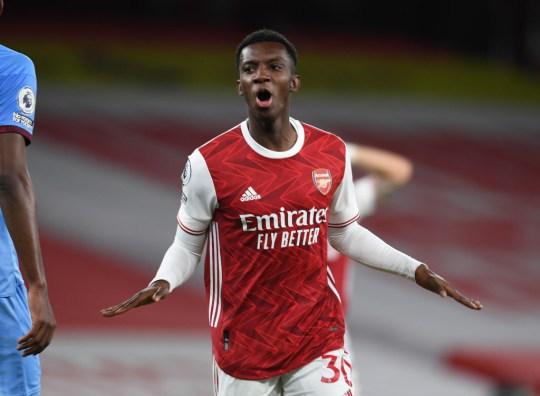 Danny Murphy rates Gunners striker Nketiah highly