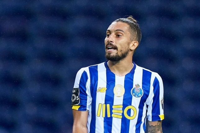 Manchester United are still some way short of Porto's valuation of Alex Telles