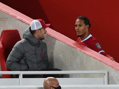 Jordan Henderson backs Virgil van Dijk to return even stronger after defender's 'inspirational' message to Liverpool squad